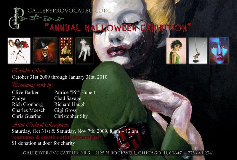 Gallery Provocatuer Halloween Exhibit